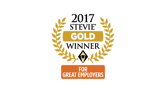 2017 Gold Stevie Award Employer of the Year