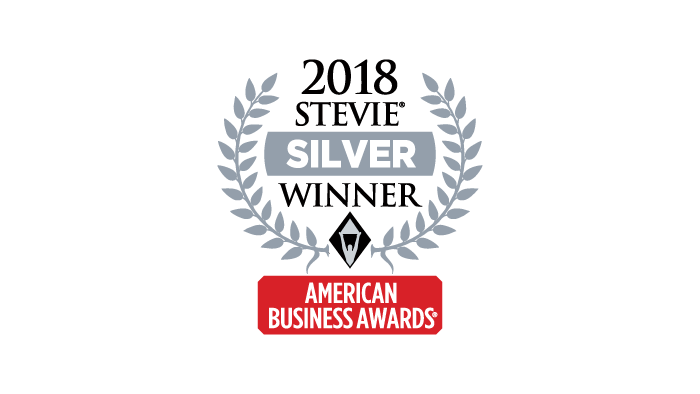 2018 Silver Stevie Award Company of the Year