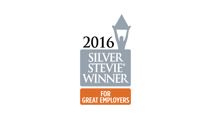 2016 Stevie Silver Award Employer of the Year