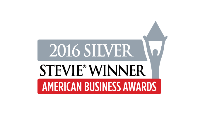 2016 Silver Stevie Award - Most Innovative Technology Company of the Year