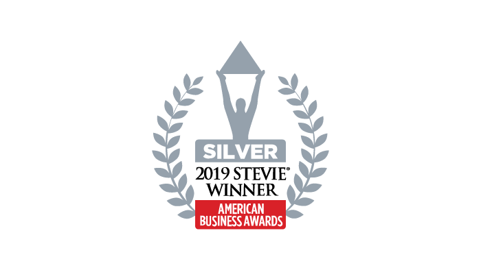 2019 Most Innovative Tech Company of the Year Silver Stevie Award