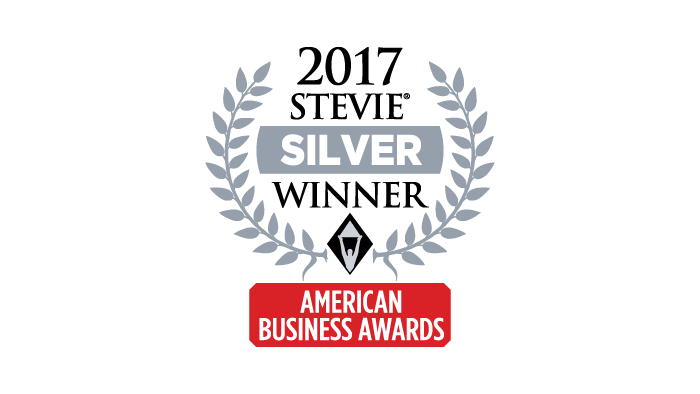 2017 Silver Stevie Award Most Innovative Tech Company of the Year