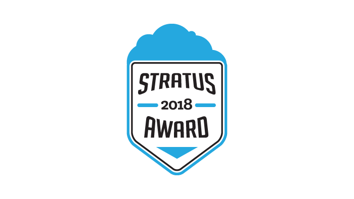 2018 Stratus Award for Cloud Computing