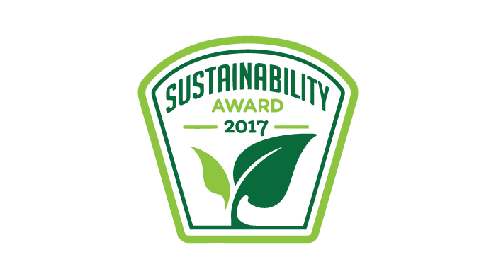 2017 Sustainability Leadership Award by Business Intelligence Group