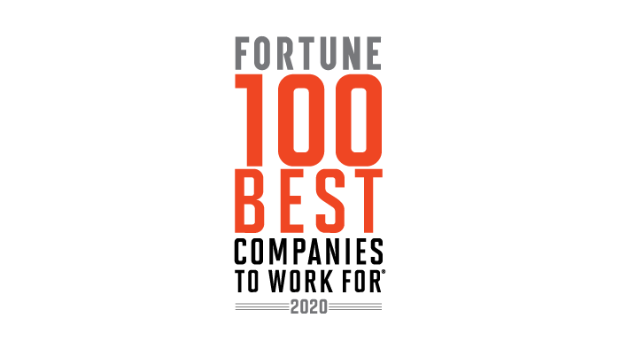 fortune 100 best companies to work for logo