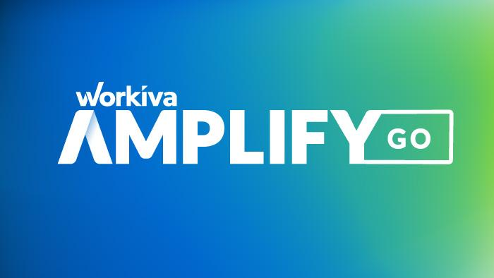 Workiva Amplify Go Logo