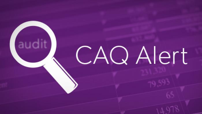 The CAQ alert: what you need to know