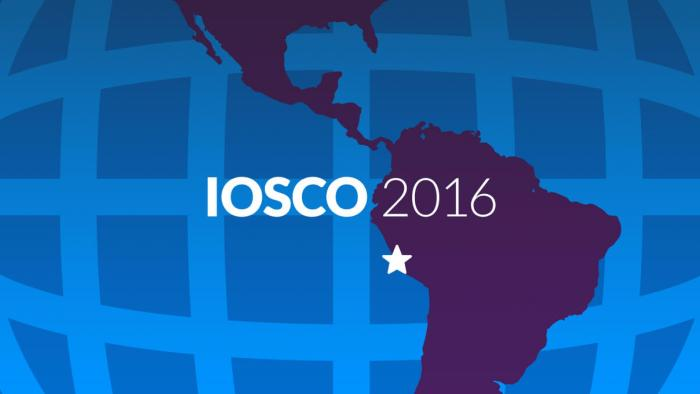 IOSCO 2016: 5 key takeaways for securities regulators