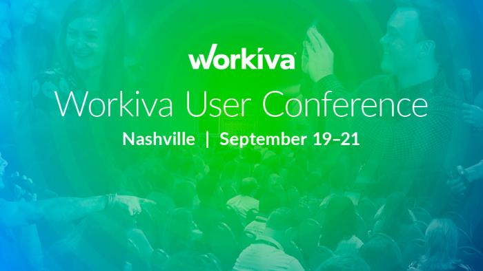 workiva user conference