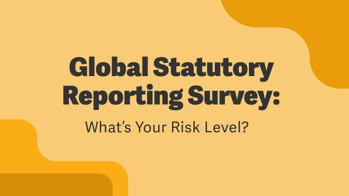 Global Statutory Reporting Survey