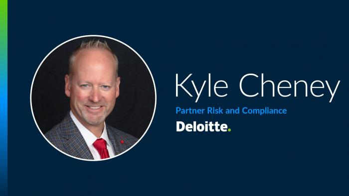Kyle Cheney from Deloitte