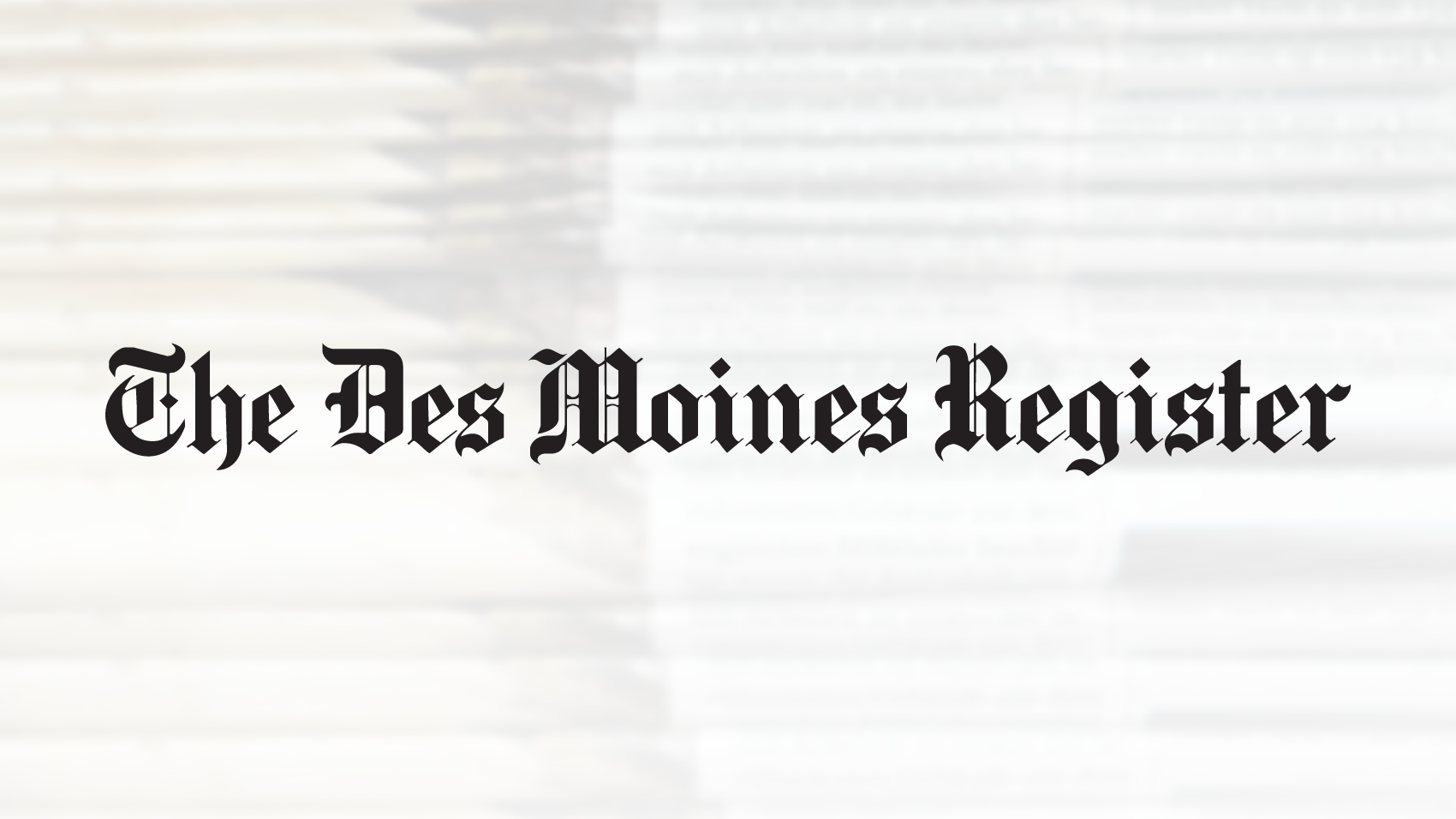 Des Moines Register Logo