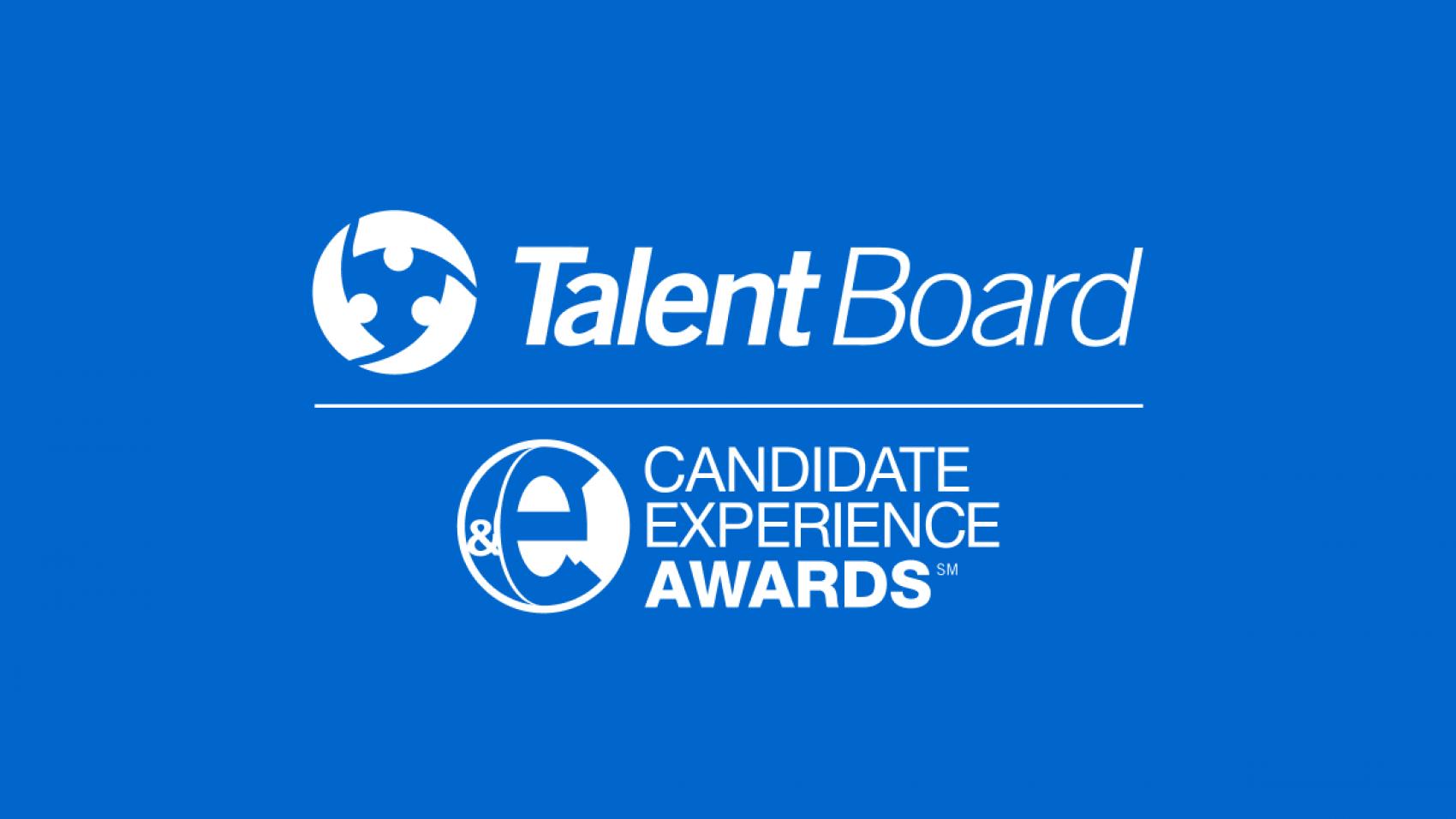 Workiva Talent Board Candidate Experience Award Newsroom