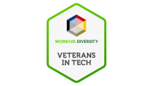 workiva employee resource group veterans in tech logo