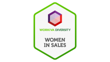 workiva employee resource group women in sales logo