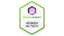 workiva employee resource group women in tech logo