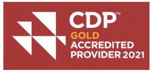 Illustration du logo CDP pour ESG.
