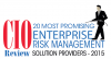 CIO Review - 20 Most Promising Enterprise Risk Management Solution Providers